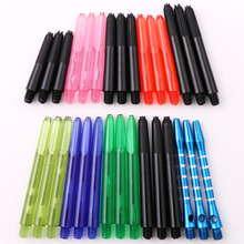30pcs 10sets Dart Shafts 2ba Screw Tread Shaft Stem Aluminium Nylon PVC Acrylic Rod 27mm/35mm/41mm/48mm Mixed