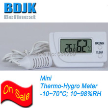 Mini Indoor Digital Hygrometer & Thermometer with sensor wire Humidity and Temperature Meter