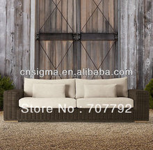 Hot Sale decorating dark brown sofa