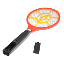 Hand Mosquito Killer Racket Electric Swatter Pest Control Insect Bug Bat Wasp Zapper Fly Repellent for dog house clean Insect(China)