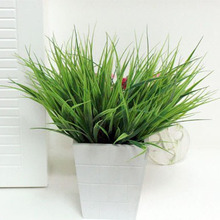 5 pcs/lot Creative Grass Artificial Plants For Hotels Decoration Simulation Plants For Festival Party Dining Table Decorating