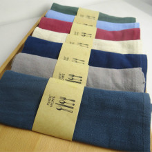 Good water absorption Plain color linen napkin Tea towels