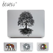 iCasso Unique Removable Vinyl Laptop Skin Sticker Protective for Macbook Air Pro Retina 11 13 15 Inch Skin MacBook case sticker
