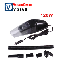 New arrival Car Automobile Electric Socket DC Charger Handheld Vacuum Dust Cleaner Collector 12V/120w Free shipping
