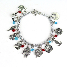 STAR WARS Charm Bracelet Vintage Alloy Jewelry For Fans Collection Link Chain Bracelet Movie Jewelry Women Gift Free Shipping