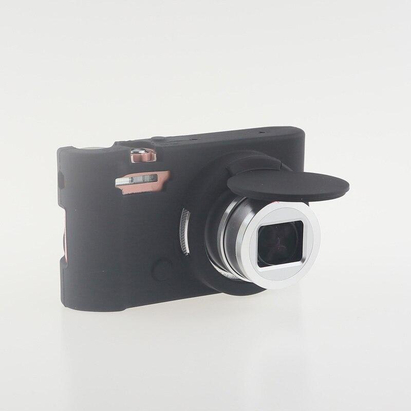 Soft Silicone Rubber Camera Bag Protective Body Case for Casio ZR5000 5500 5300-18