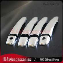 Chromium Styling for Nissan Navara NP300 Door Handle Cover chrome PICK UP accessories for navara frontier np300