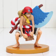 13cm Anime One Piece SCultures BIG Special Film GOLD Luffy with axe PVC Figure Collectible Model Toy(China)