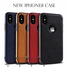 300 pcs Wholesale New Launching case for iPhone 8 phone accessories leather phone case for iPhone 8 with customization(China)