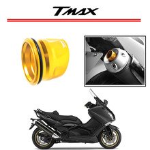 Sale Motorcycle Exhaust Spout Titanium Anodized Aluminum for Yamaha Tmax T-MAX 530 2012-2015