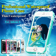 For iPhone 7 / 7 Plus Case 360 Full Body Cover Water Proof Cases For iPhone 6 6S 6 Plus 5 5s se Phone Bag Protective Cases(China)