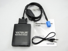 Yatour Twingo Renault Clio Laguna Megane Scenic Escape Tuner List Update List Car Digital Music CD Changer USB MP3 AUX adapter(China)