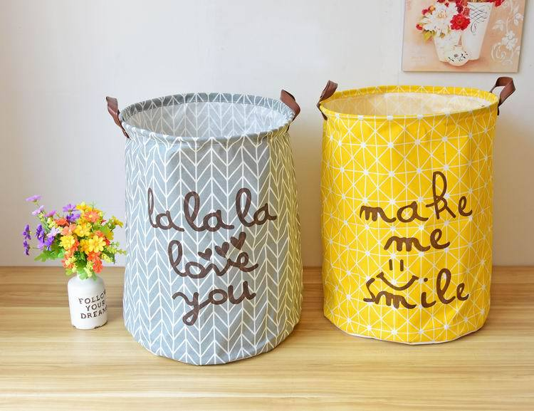 Free shipping Laundry Basket Storage 40*50cm Large Basket For Toy Washing Basket Dirty Clothes Sundries Storage Baskets Box 8