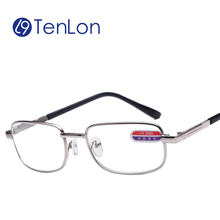 Tenlon Alloy Glass Lens Durable HD Men Reading Glasses Women gafas de lectura oculos de grau