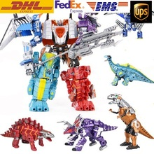 Transformation dinosaur Robots Transformable Toys for children&boys&Kids Action Figure dinosaur Toy Model Chirstmas Gift(China)