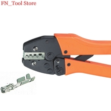 FASEN VH5-04B 0.5-1.0,1.5-2.5mm2 Ratchet crimping plier AWG23-13 Dedicated cable connector crimping tool