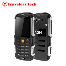 Cheap 3G WCDMA IP68 Waterproof Shockproof Dustproof Phone AGM M1 2570mAH Battery 2 Inch Screen Bluetooth FM radio Anti-drop