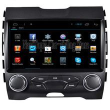 NaviTopia 9inch 1024*600 Quad Core Android 4.4/Android 6.0 Car Radio Multimedia Video Player for Ford Edge 2015,No DVD CD Player