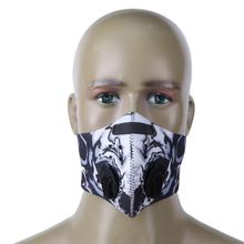 NEW Unisex Dustproof Bicycle Face Mask MTB Bike Cycling Activated Carbon Half Face Mask Anti-Pollution Face Shield for Men(China)