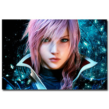 Lighting - Final Fantasy XV Game Art Silk Poster Print 12x18 24x36inch Wall Pictures For Bedroom Living Room Decor 043