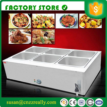 Food warmer factory wholesale kitchen equipment electric deep bain marie(China)