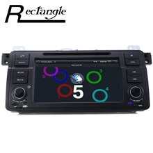 7 Inch Single Din WCE Car DVD Player For BMW 3 E46 GPS Navigation Digital Touch Screen TFT LCD Display Car Radio Support