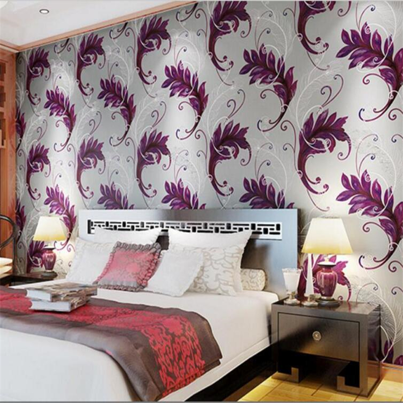 Beibehang Peacock feathers big 3d luxurious sitting room of bedroom the head of a bed 3D wallpaper background wallpaper murals<br>