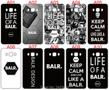High Quality Cell phone case For Samsung Galaxy 2016 J5 J510F Case Hard PC LIFE OF A BALR Patterned Cover(China)