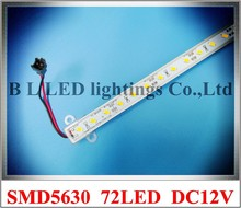 SMD 5630 LED light bar 5630 LED counter light LED rigid strip DC12V 100cm 72 led VIP product for VIP buyers Fedex free shipping(China)