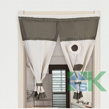 Traditional Chinese Simple curtains Sheer Window valance Decorative door kitchen curtains for home decorations