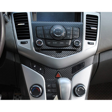 Carbon Fiber Vinyl Sticker Car CD Control Panel Sticker Special Designed Chevrolet Chevy/ Holden Cruze