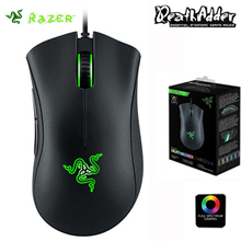 Razer Deathadder Chroma 10000dpi USB Optical Wired Gaming Mouse Original Razer For PC Laptop Computer Pro Gamer Mouse(China)