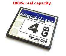 High Quality cheap OEM Compact Flash Card 4GB CF Memory CARD 4gb compactflash cards free shipping