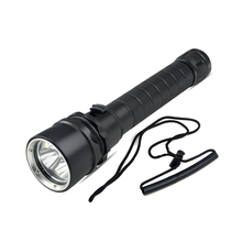 Super Bright Underwater Diving 100m-200m Flashlight 30W 3XCREE XM-L2 LED Flashlight 3 LEDs Diveing Torch Waterproof Light