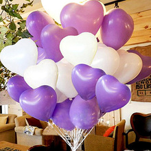 20pcs/lot 10inch Latex Balloon Helium Balloons Wedding Party Birthday Balls Classic Toys Christmas Gift Shape Balloon Heart