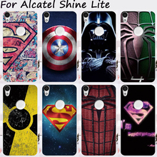 TAOYUNXI Mobile Phone Cases For Alcatel Shine Lite Cover One Touch Shine Lite 5080 5080X Soft TPU Silicon Skin(China)