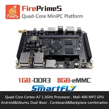 FirePrimeS Quad-Core ARM Cortex-A7 Processors Development Board , RK3128 , Support Ubuntu15.04 and Android5.1 demo board(China)