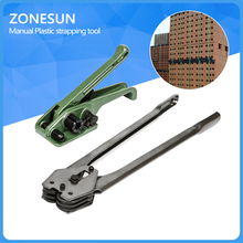 ZONESUN Manual Strapping Tool, Hand Tool, Packaging machine Plastic belt bundling machine PET straps