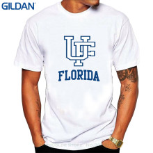 GILDAN Fresh Design Summer Good Quality Men's Florida Fighting Gators Uf Ufl Teams Logo T-shirts Xl White(China)
