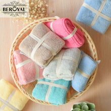 New 2017 Kitchen Towel - 8pieces Microfiber Plush Hand Towel 30*30cm Compressed Quick-Dry Cleaning Rag Small Towels Dish Cloth