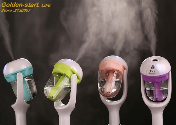 12V Car Humidifier Auto Mini Air Purifier Freshener Car Air Purifier Aroma Diffuser Essential Mist Maker fogger<br><br>Aliexpress