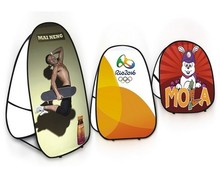 Folding Pop Up Banner Stand With Printing - L size Free shipping to Australia and New Zealand
