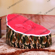 baby bean bag with 2pcs rose up covers baby bean bags baby bean bag chair baby bean bag bed beanbag seat FREE SHIPPING(China)