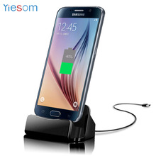 Dock Charger Desktop Charging Data Sync Stand Station Samsung Galaxy S6 S7 Edge Xiaomi Redmi 5 Plus 5A 4X Redmi Note 4X