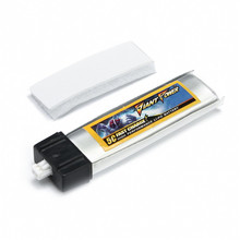 Rechargeable Lipo Battery Giant Power 220mAh 3.7V 1S 50C Upgrade Lipo Battery For Blade Inductrix  RC Quadcopter