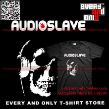Audioslave Alternative rock Band Carnage skull 100% cottonT-shirt tee t Clothing