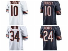 Men's Walter Payton Jordan Howard Mitchell Trubisky jerseys(China)