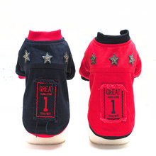 Buy Newest super warm dog clothes winter black red pet dog coats jackets dogs clothing puppy dog chihuahua yorkshire for $5.18 in AliExpress store