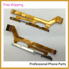 10pcs/lot Original On and Off & Power Flex Cable For Sony Xperia M2 D2303 D2305 D2306 Phone Parts Replacement(China)