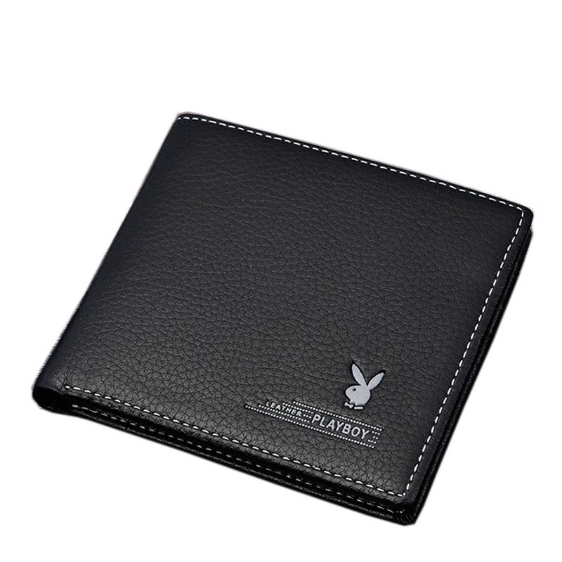 2016 new Famous brand leather men wallet premium product fashion wallets for man short black walet portefeuille homme<br><br>Aliexpress